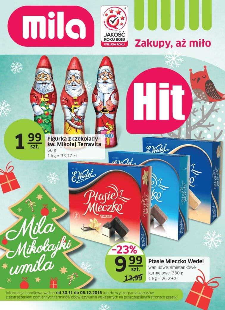 Gazetka promocyjna Mila do 06/12/2016 str.0