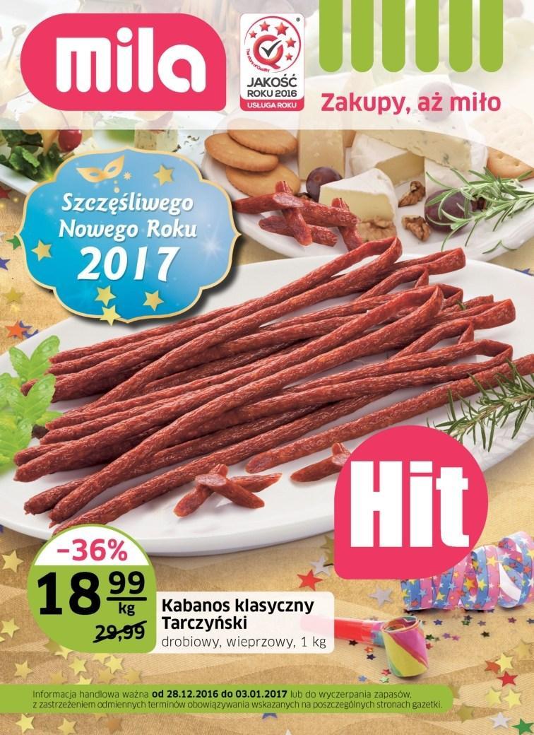 Gazetka promocyjna Mila do 03/01/2017 str.0