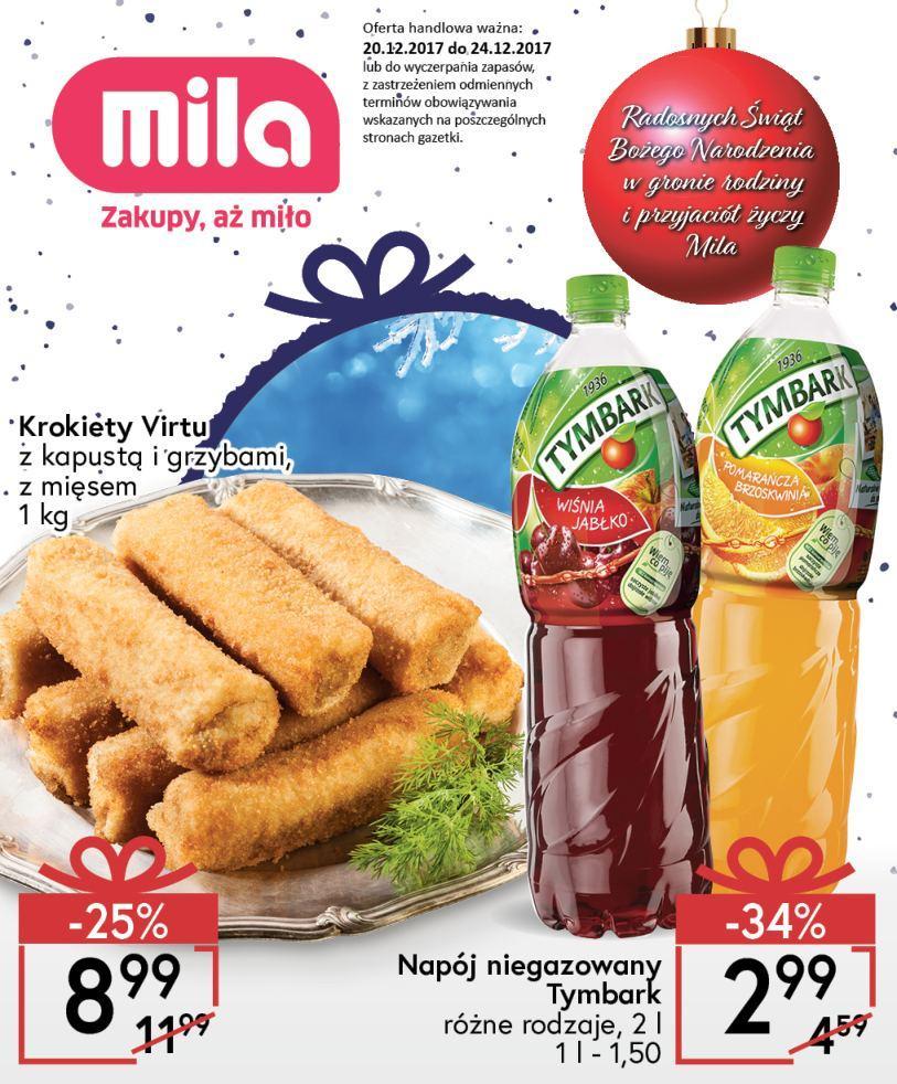 Gazetka promocyjna Mila do 24/12/2017 str.0