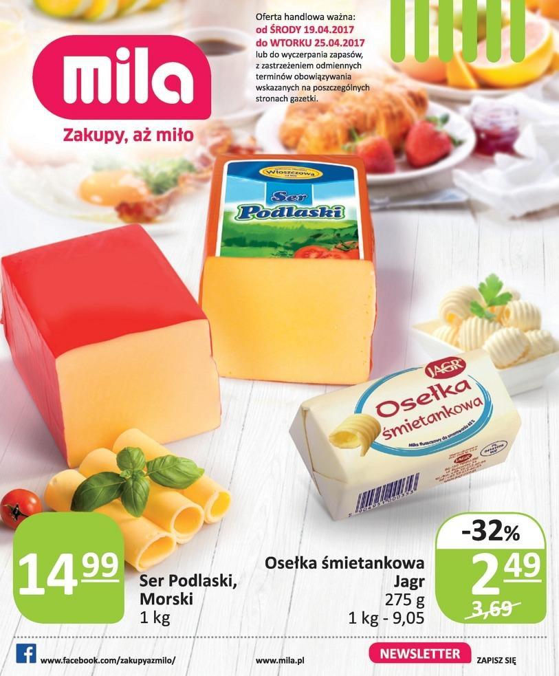 Gazetka promocyjna Mila do 25/04/2017 str.0