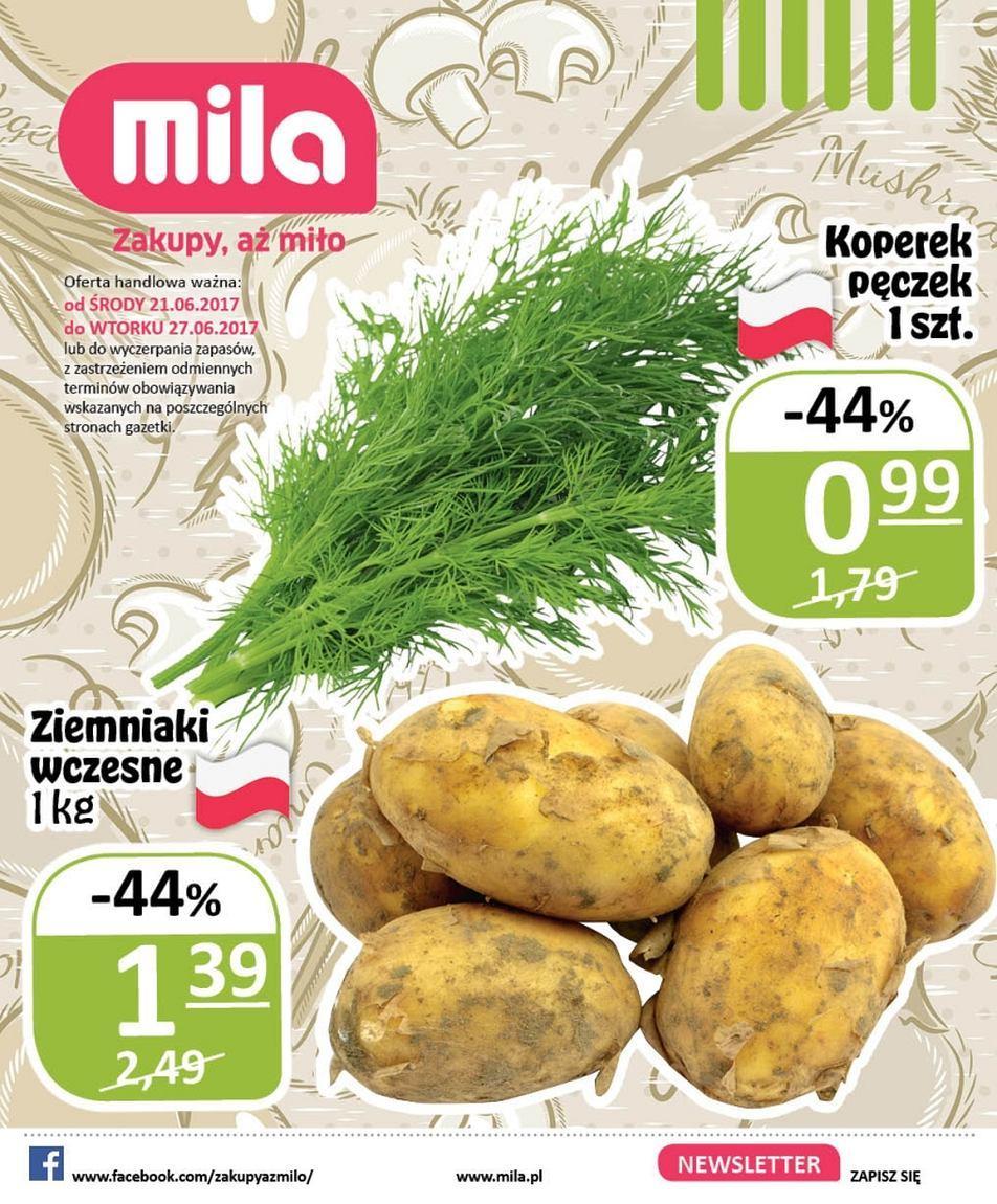 Gazetka promocyjna Mila do 27/06/2017 str.0