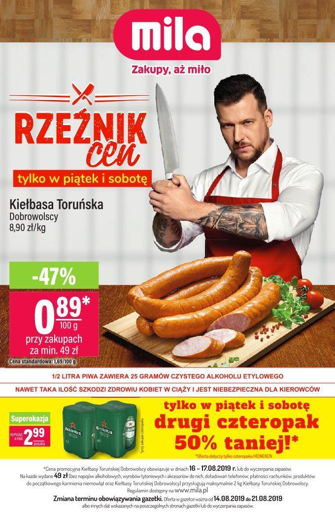 Gazetka promocyjna Mila do 21/08/2019 str.0
