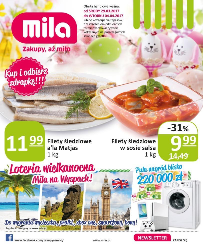 Gazetka promocyjna Mila do 04/04/2017 str.0