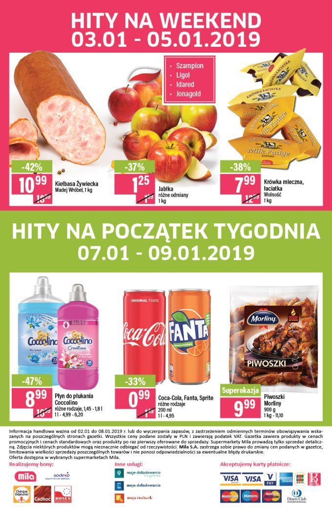 Gazetka promocyjna Mila do 08/01/2019 str.19