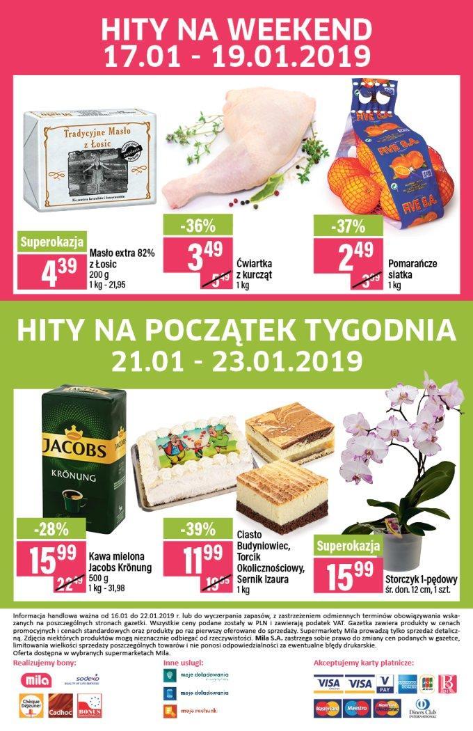 Gazetka promocyjna Mila do 22/01/2019 str.23