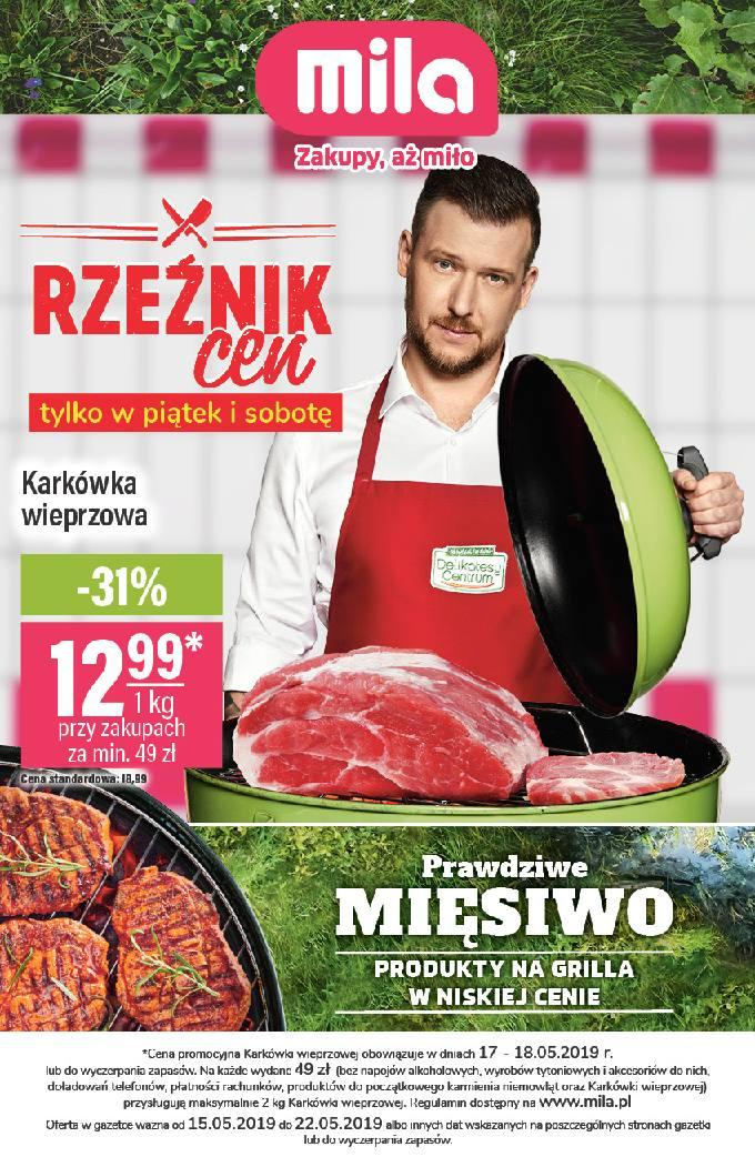 Gazetka promocyjna Mila do 22/05/2019 str.1