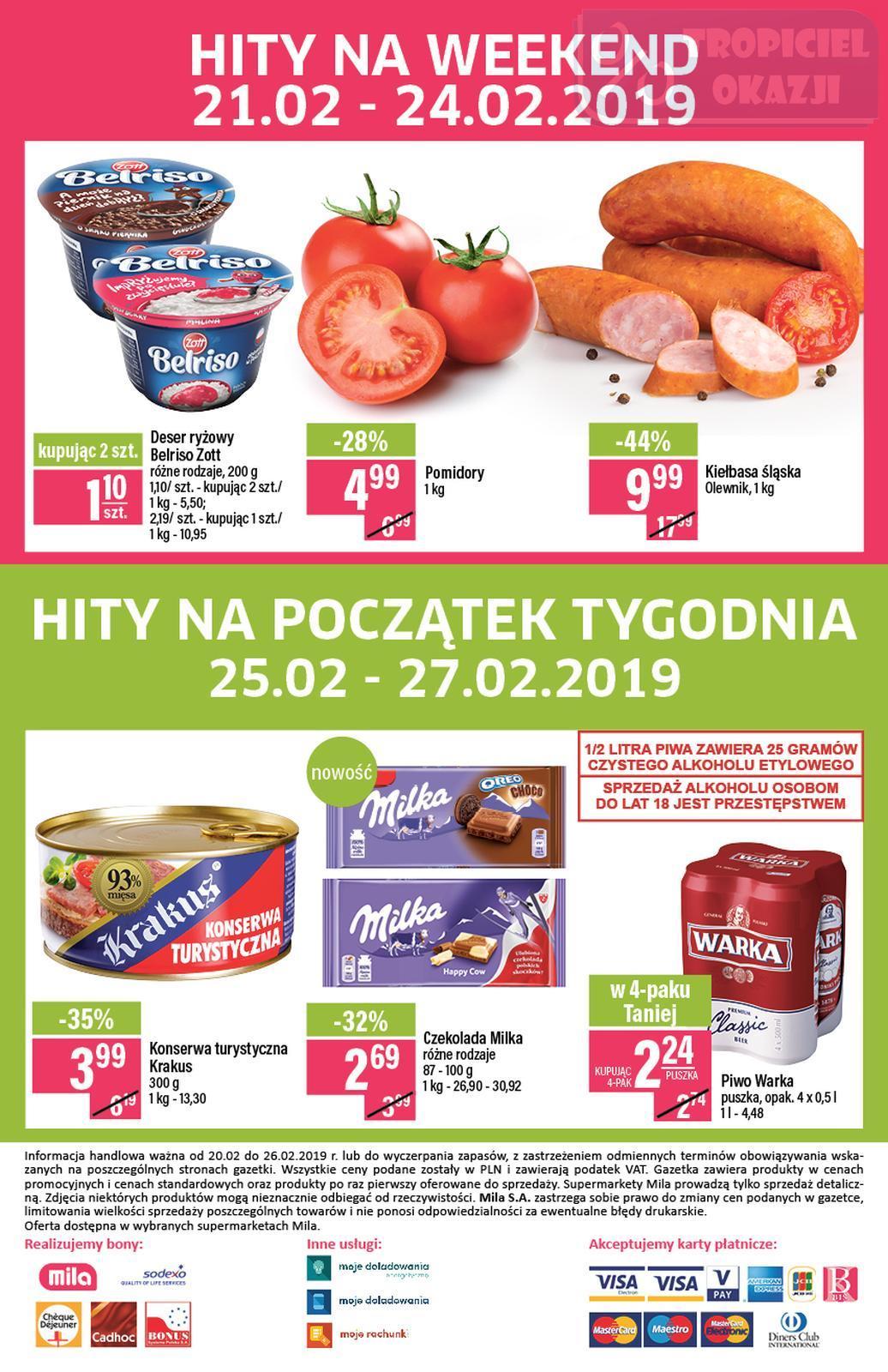 Gazetka promocyjna Mila do 26/02/2019 str.19