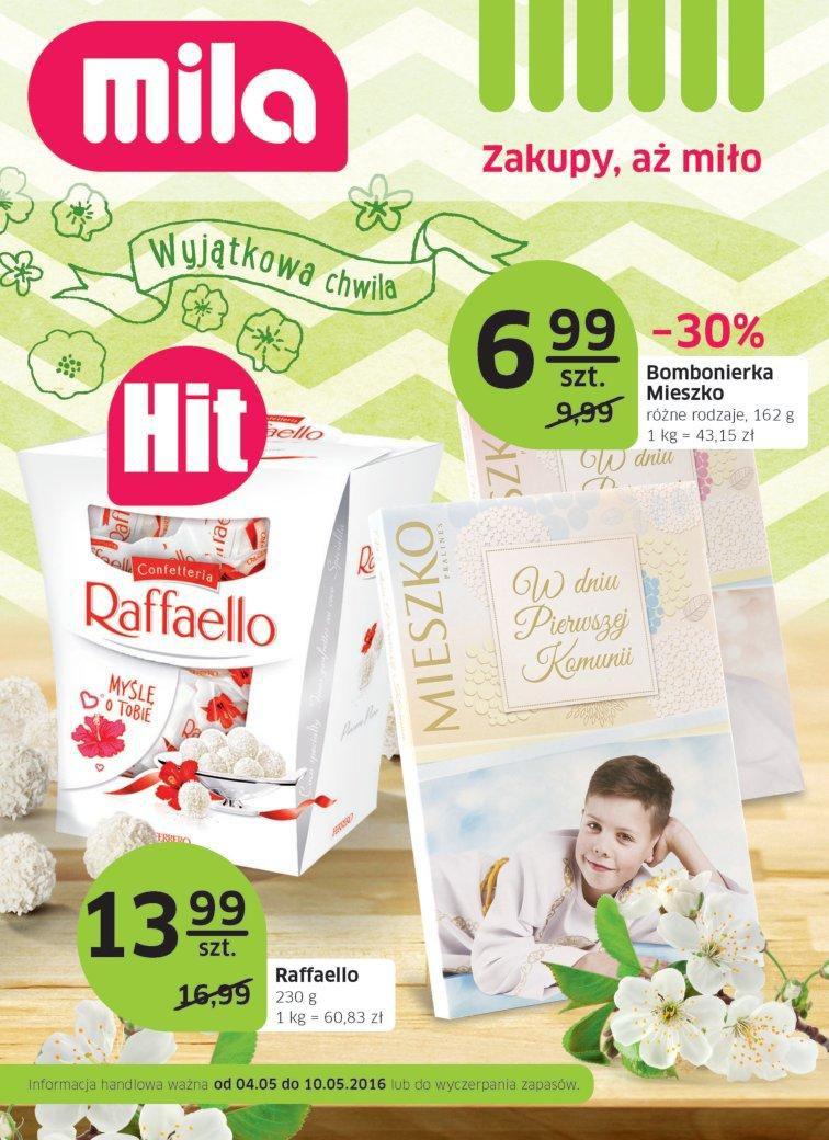 Gazetka promocyjna Mila do 10/05/2016 str.0