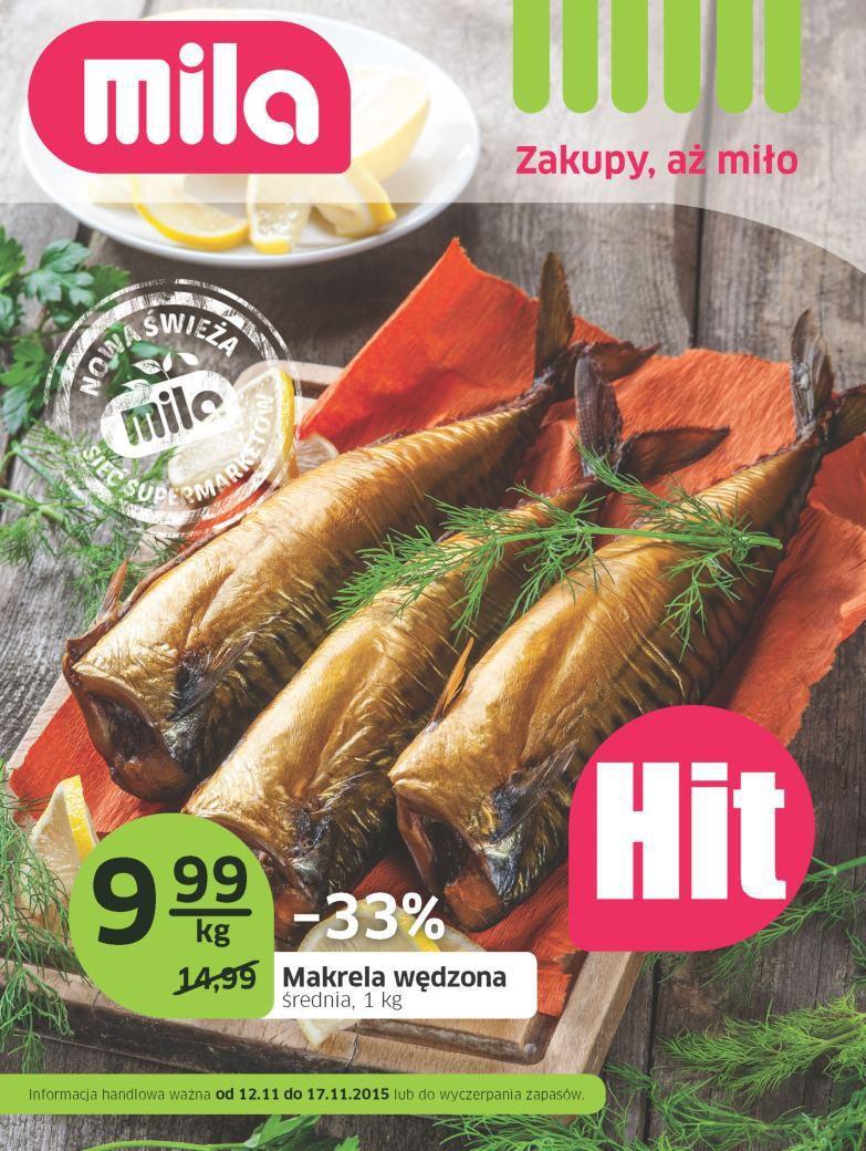 Gazetka promocyjna Mila do 17/11/2015 str.0
