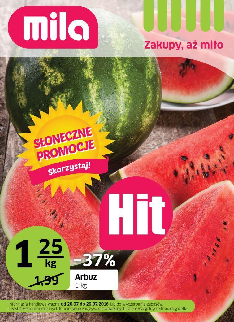 Gazetka promocyjna Mila do 26/07/2016 str.0