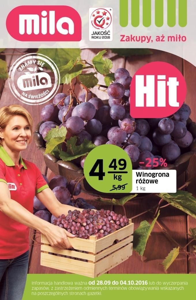Gazetka promocyjna Mila do 04/10/2016 str.0