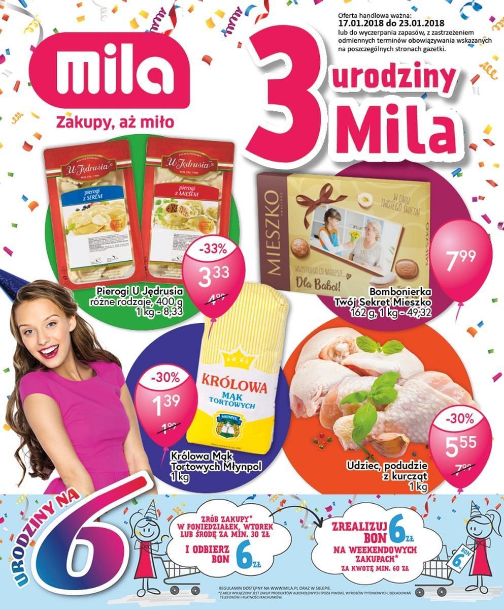 Gazetka promocyjna Mila do 23/01/2018 str.0