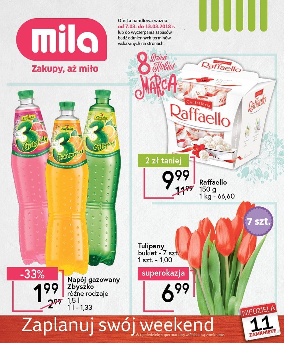Gazetka promocyjna Mila do 13/03/2018 str.0