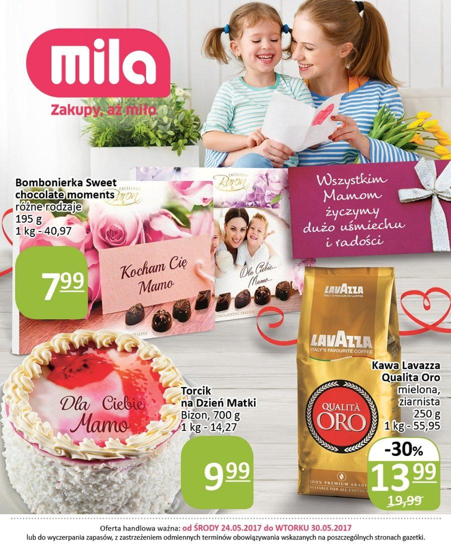 Gazetka promocyjna Mila do 30/05/2017 str.0