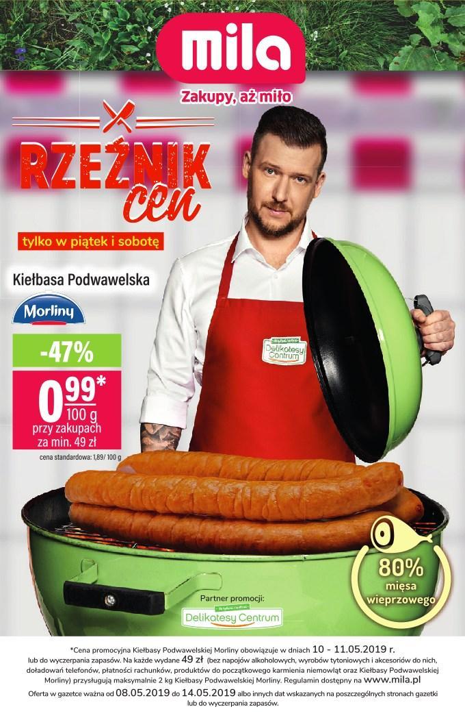 Gazetka promocyjna Mila do 14/05/2019 str.0