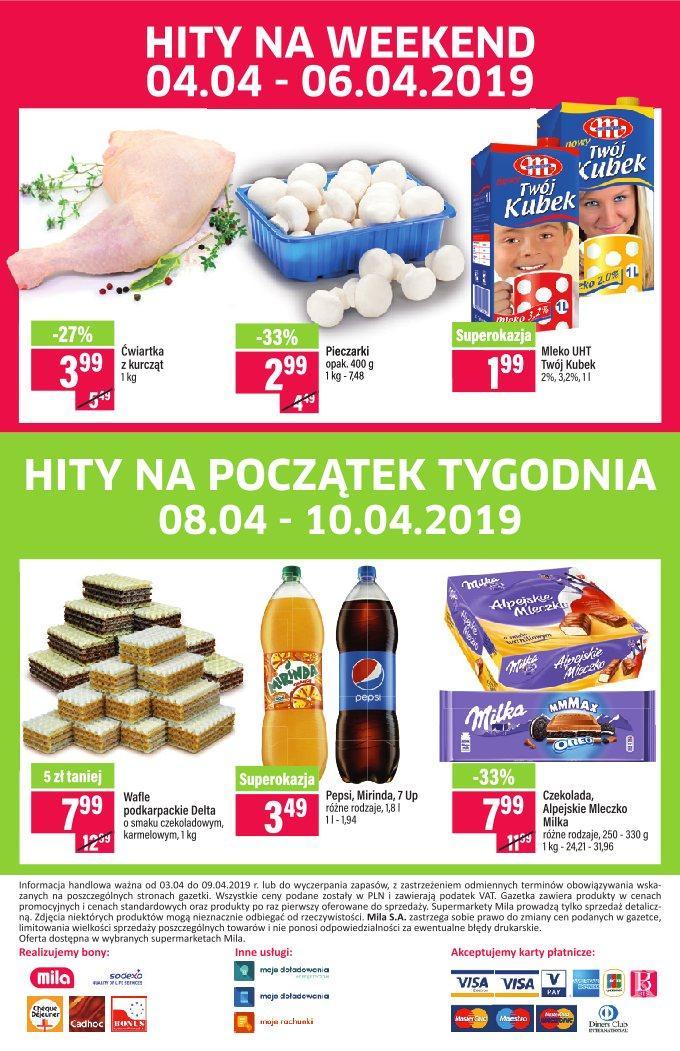 Gazetka promocyjna Mila do 09/04/2019 str.23