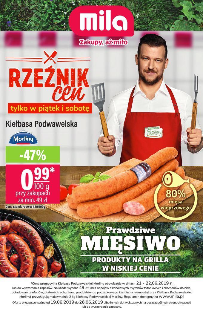 Gazetka promocyjna Mila do 26/06/2019 str.0