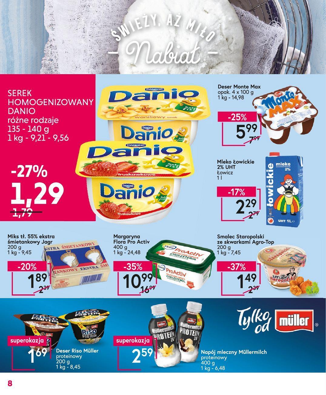 Gazetka promocyjna Mila do 22/05/2018 str.8