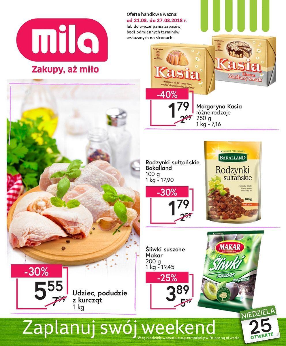 Gazetka promocyjna Mila do 27/03/2018 str.0