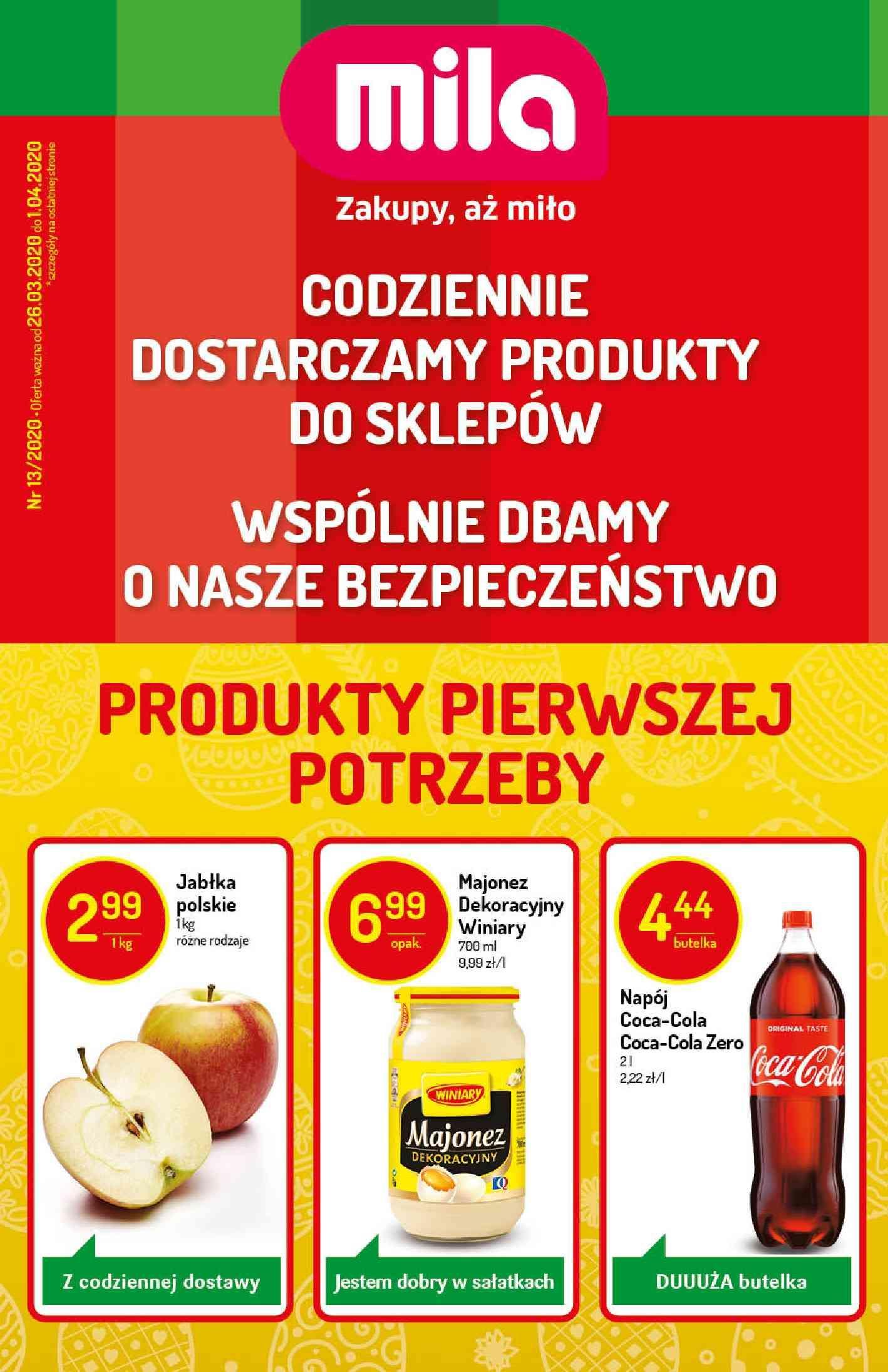 Gazetka promocyjna Mila do 01/04/2020 str.1