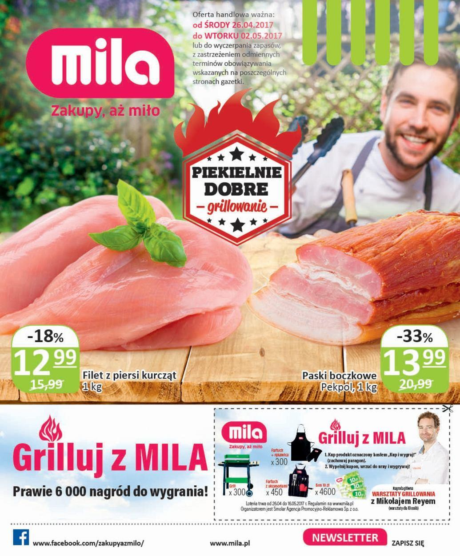 Gazetka promocyjna Mila do 02/05/2017 str.0