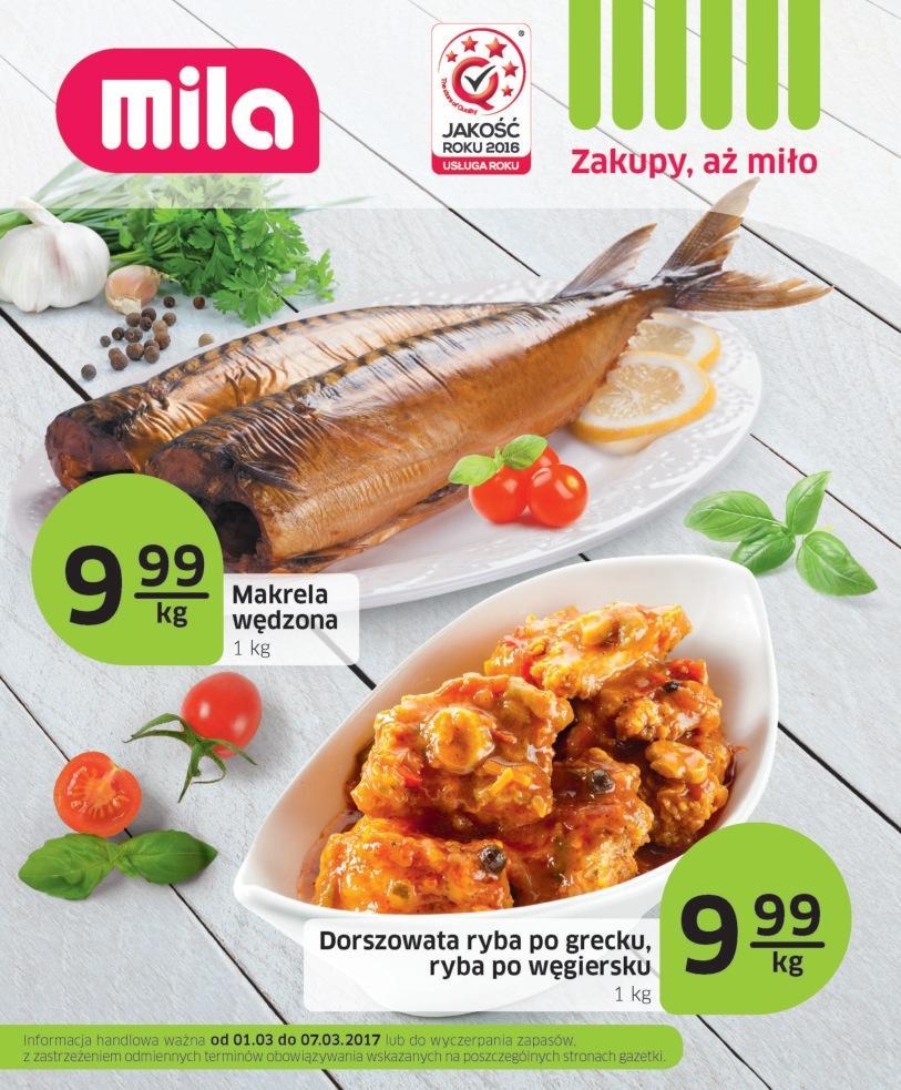 Gazetka promocyjna Mila do 07/03/2017 str.0
