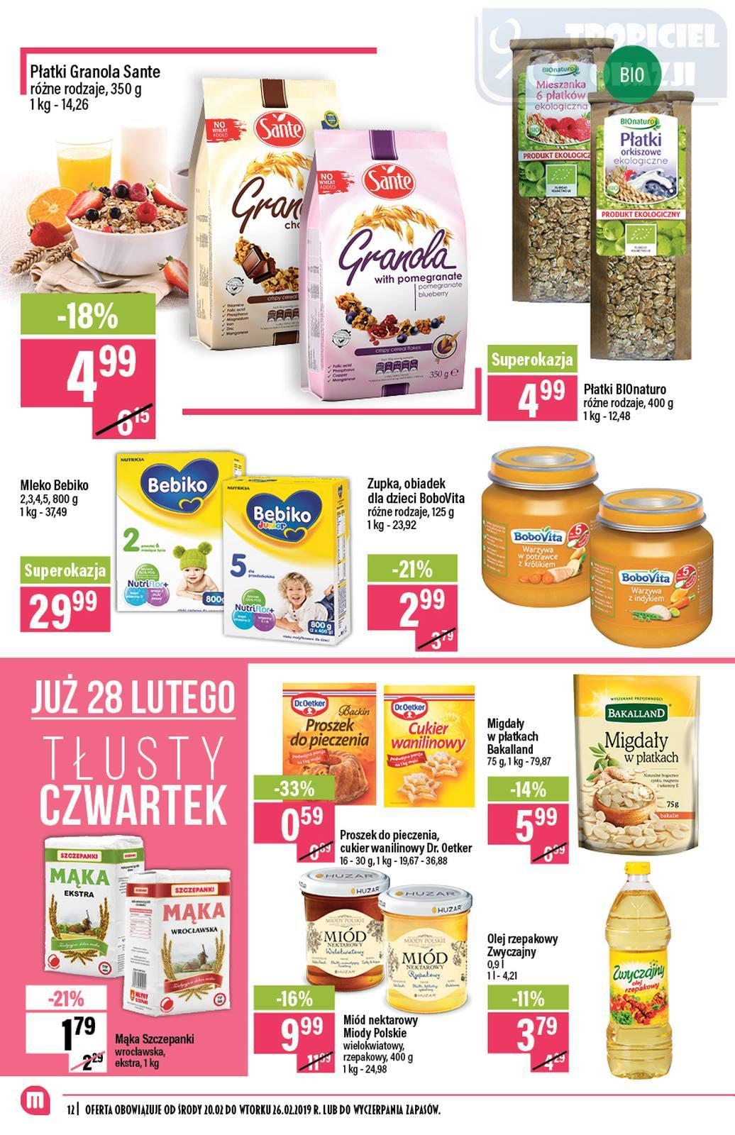 Gazetka promocyjna Mila do 26/02/2019 str.11