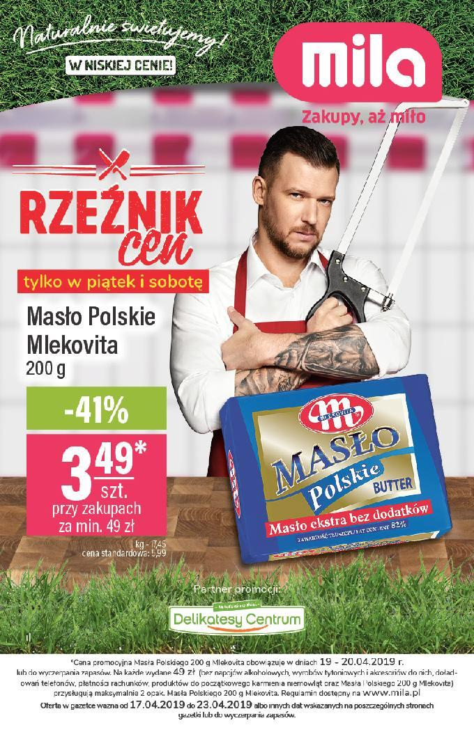 Gazetka promocyjna Mila do 23/04/2019 str.1