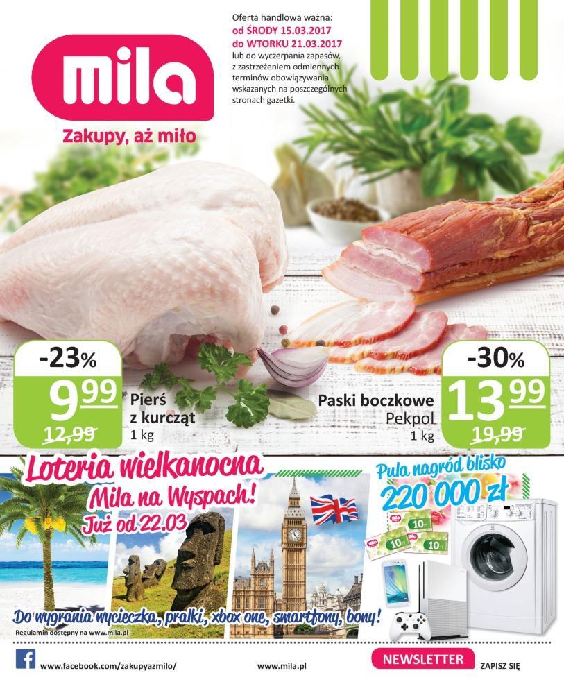 Gazetka promocyjna Mila do 21/03/2017 str.0