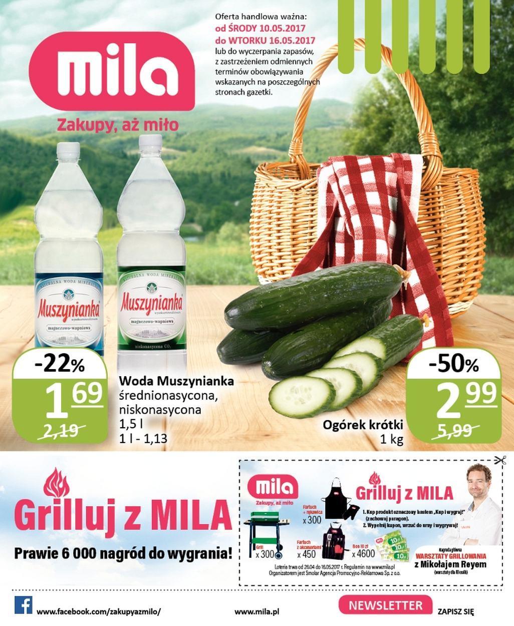 Gazetka promocyjna Mila do 16/05/2017 str.0