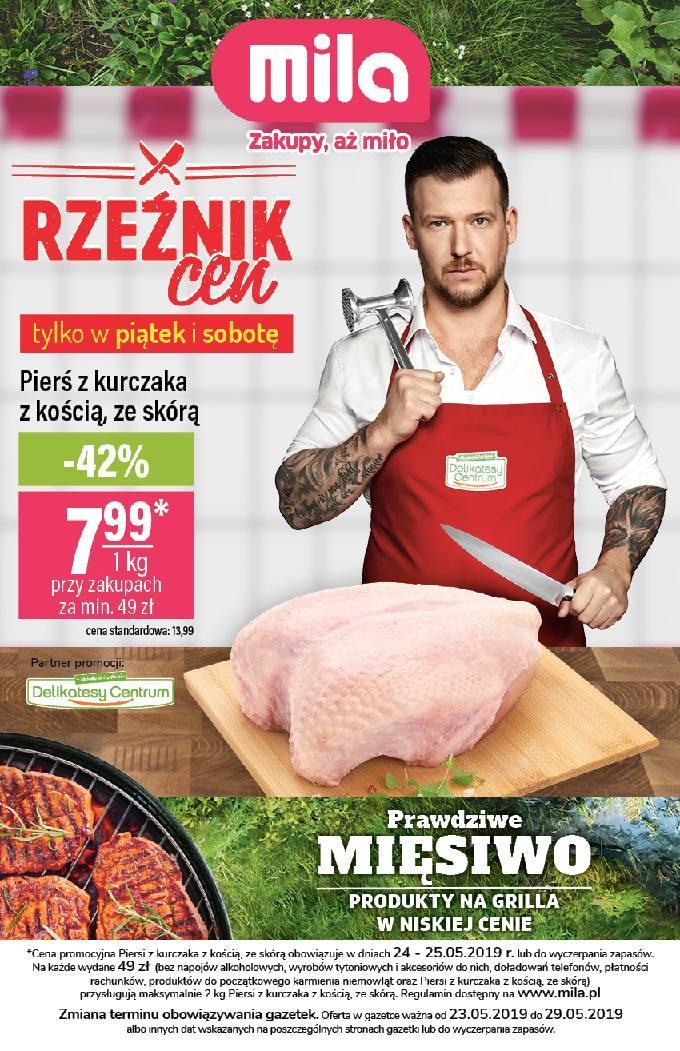 Gazetka promocyjna Mila do 29/05/2019 str.1