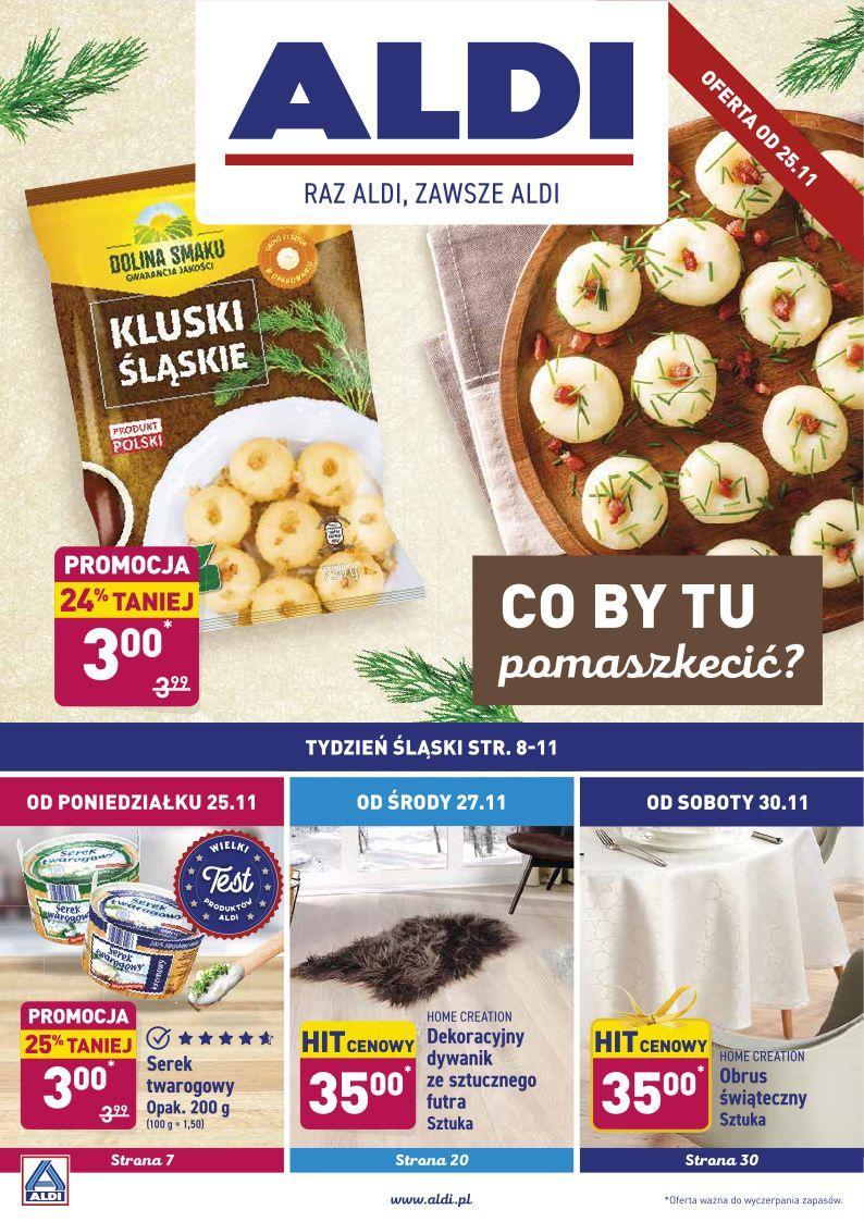 Gazetka promocyjna ALDI do 30/11/2019 str.1