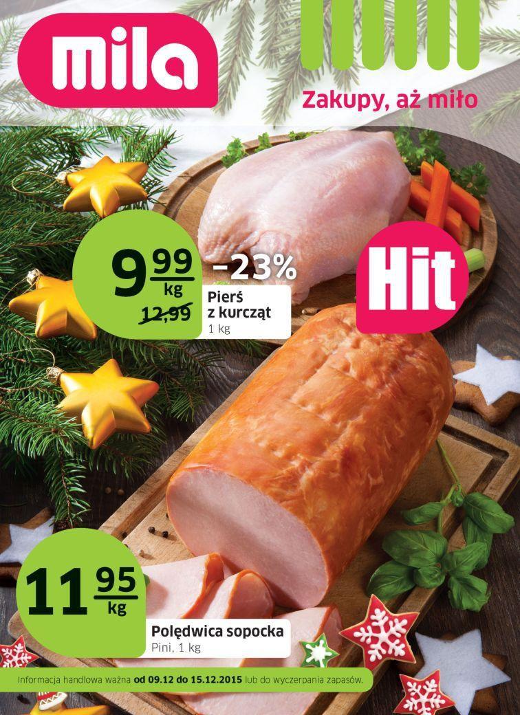 Gazetka promocyjna Mila do 15/12/2015 str.0