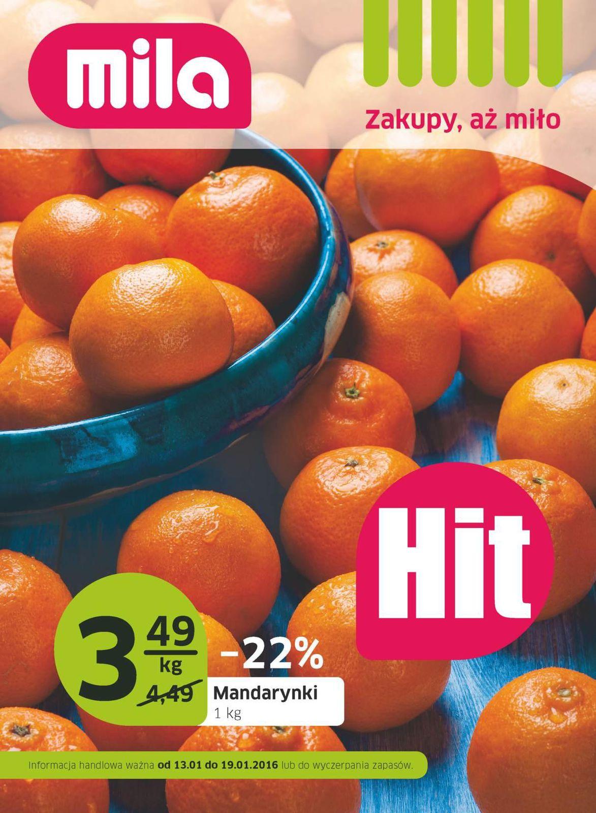 Gazetka promocyjna Mila do 19/01/2016 str.0