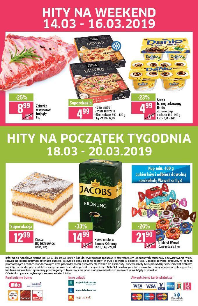 Gazetka promocyjna Mila do 19/03/2019 str.19