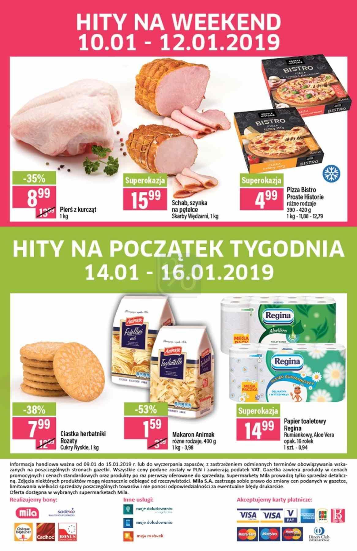 Gazetka promocyjna Mila do 15/01/2019 str.19