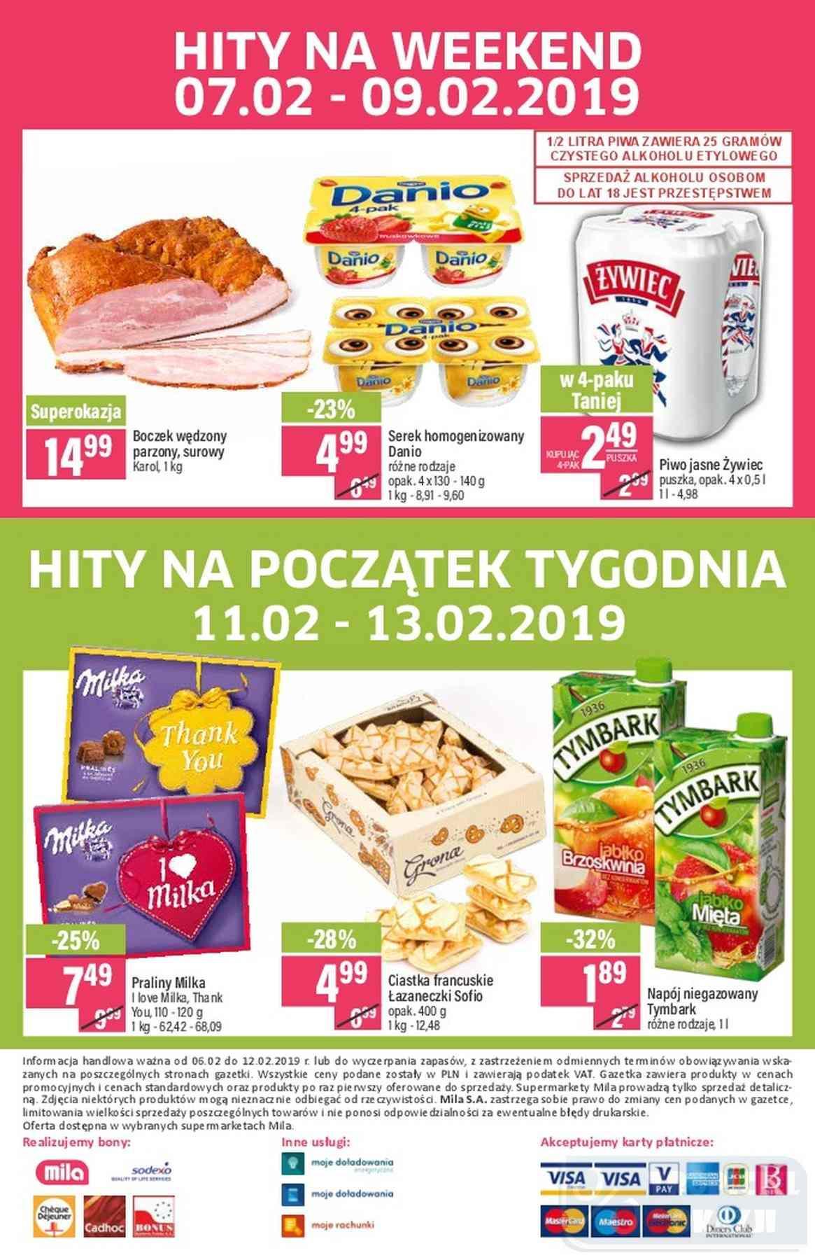 Gazetka promocyjna Mila do 13/02/2019 str.19