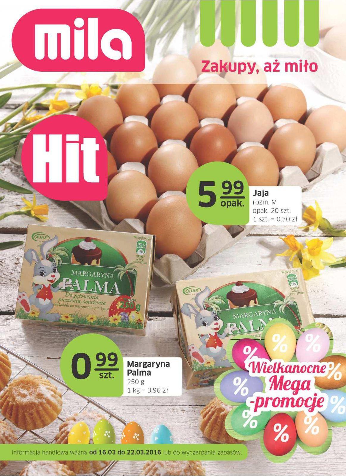 Gazetka promocyjna Mila do 22/03/2016 str.0