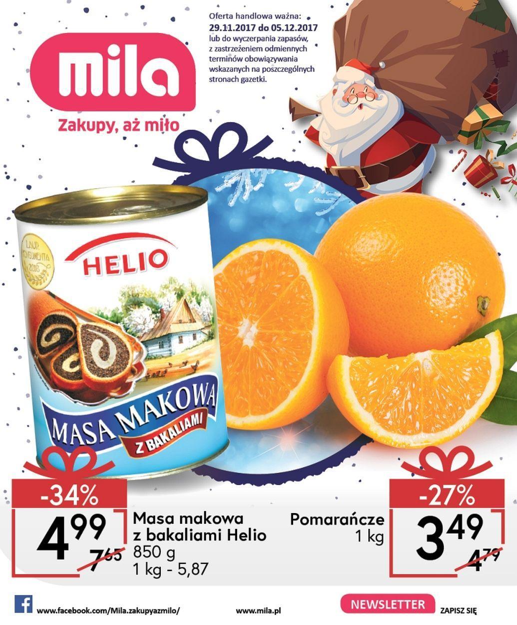 Gazetka promocyjna Mila do 05/12/2017 str.0