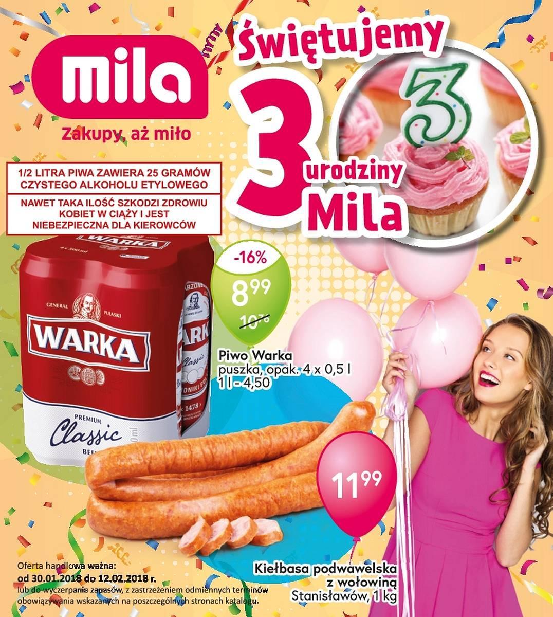 Gazetka promocyjna Mila do 12/02/2018 str.0