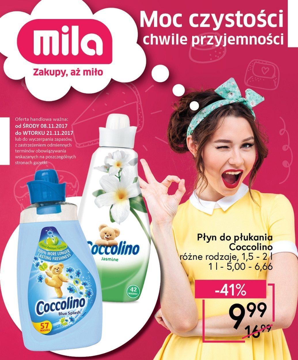 Gazetka promocyjna Mila do 21/11/2017 str.0