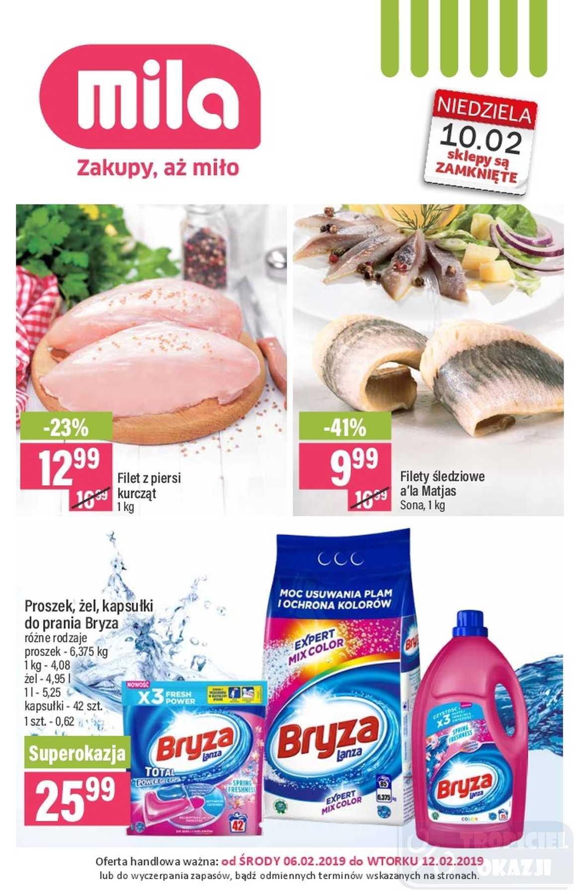 Gazetka promocyjna Mila do 13/02/2019 str.0