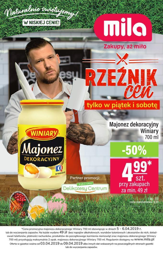 Gazetka promocyjna Mila do 09/04/2019 str.0