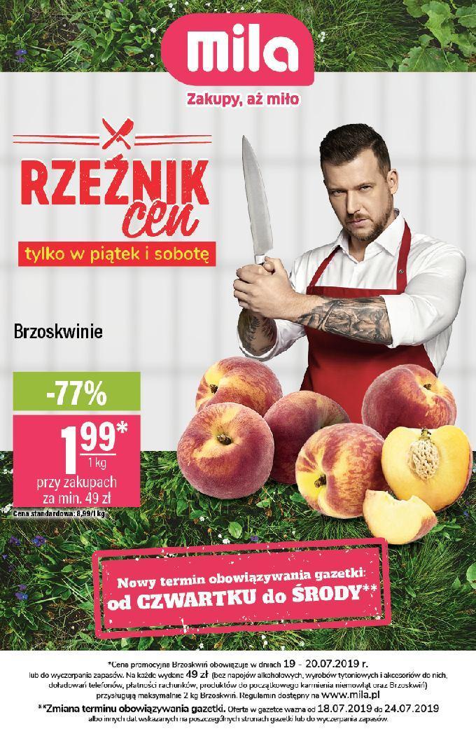Gazetka promocyjna Mila do 24/07/2019 str.0