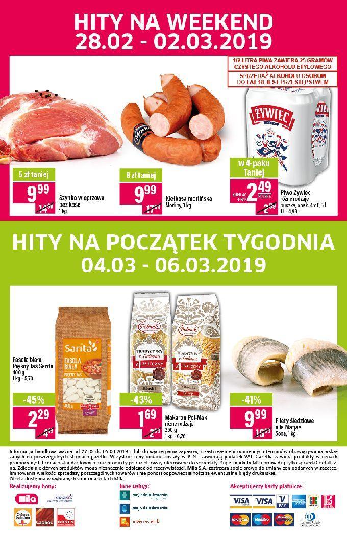 Gazetka promocyjna Mila do 05/03/2019 str.19