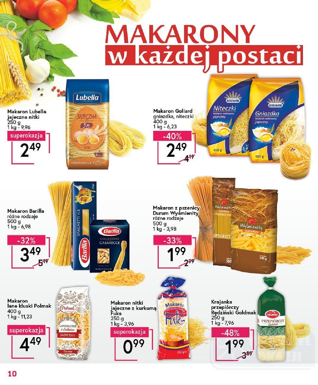 Gazetka promocyjna Mila do 14/08/2018 str.10