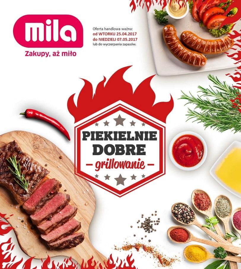 Gazetka promocyjna Mila do 07/05/2017 str.0