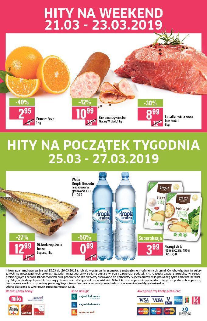 Gazetka promocyjna Mila do 26/03/2019 str.19