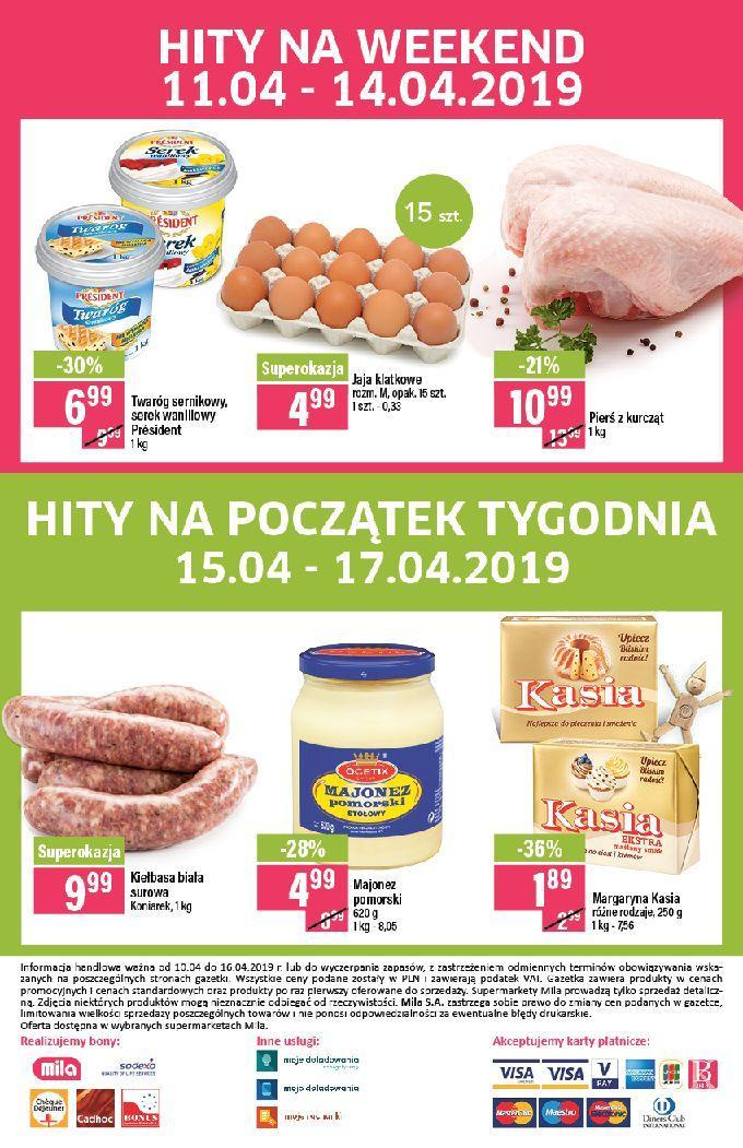 Gazetka promocyjna Mila do 16/04/2019 str.23