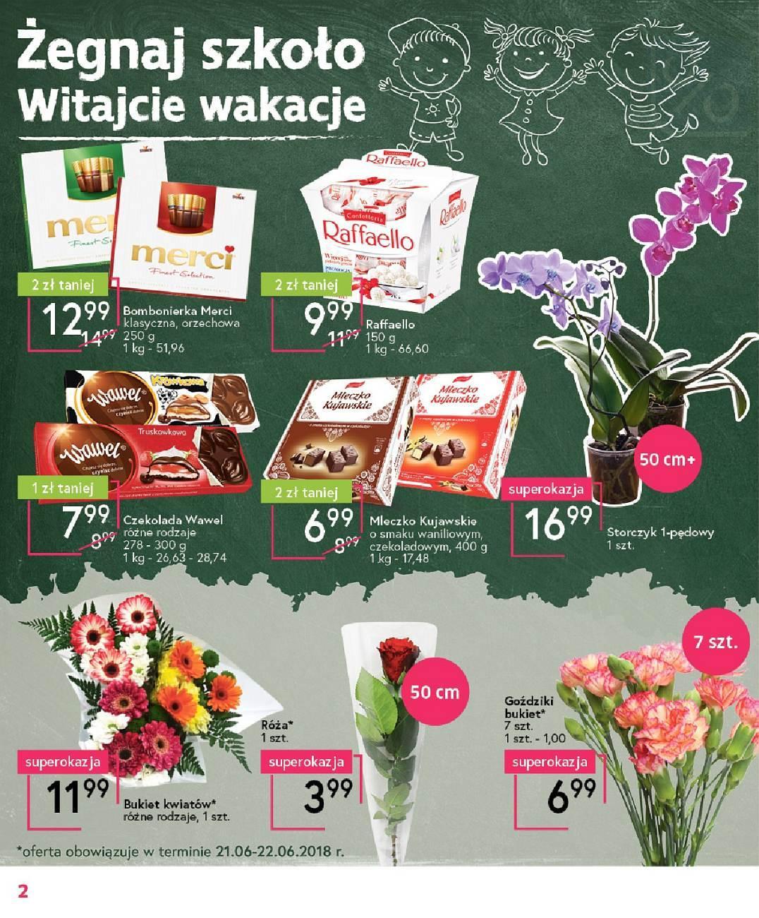 Gazetka promocyjna Mila do 26/06/2018 str.1